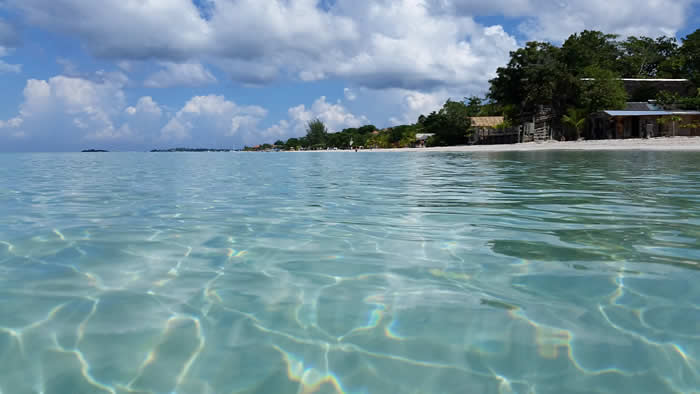 The Sea in Negril Jamaica