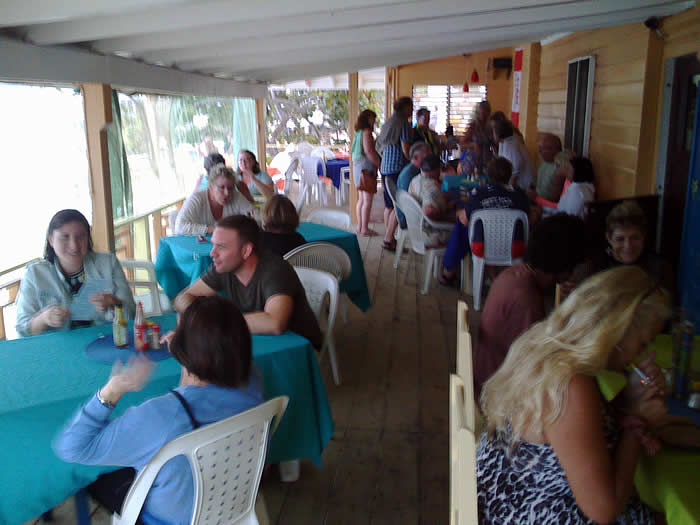 Busy Evening at Canoe in Negril Jamaica