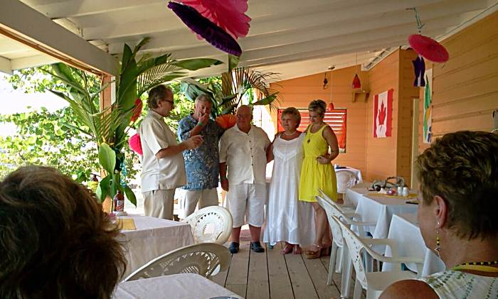 Renewing Vows in Negril Jamaica