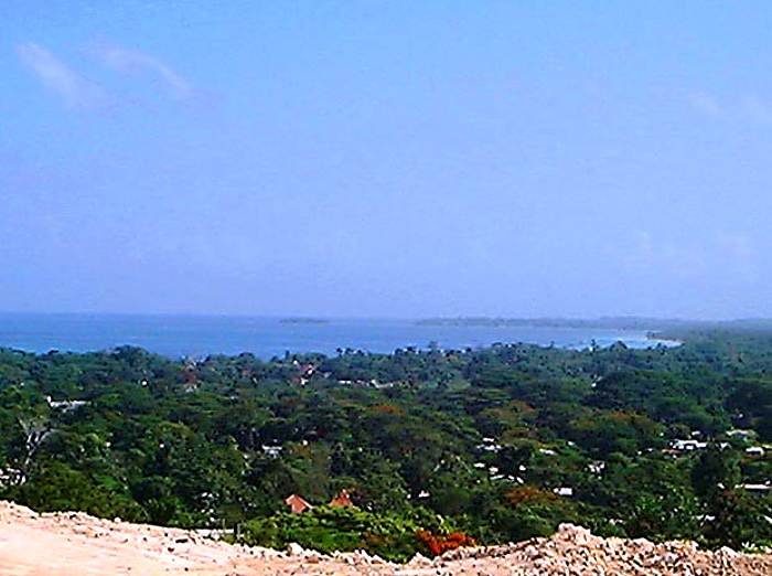 View From the Top in Negril Jamaica