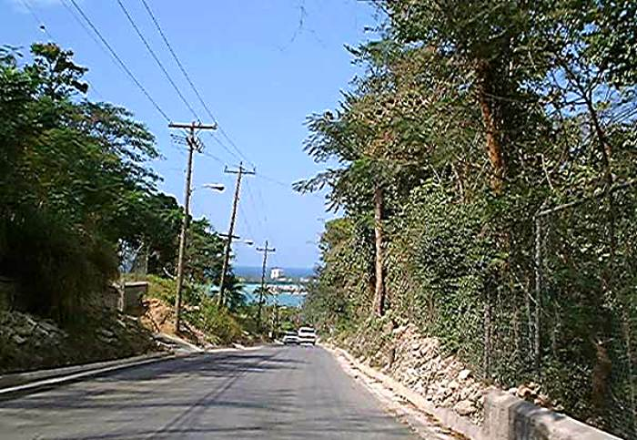 The In-Land Route in Negril Jamaica