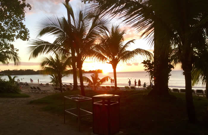 Jeff's Sunset at Riu in Negril Jamaica